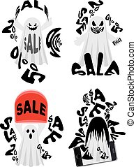Spooky Sale Ghost