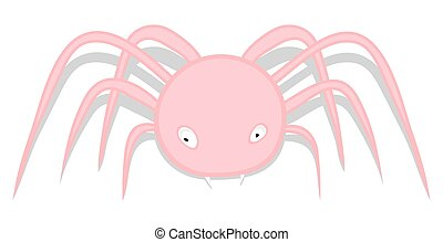 Spooky Spider Character