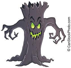 Spooky tree theme image 1