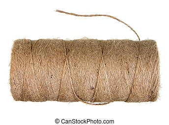 Spool of bale twine