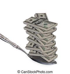 Spoon Feed Cash.