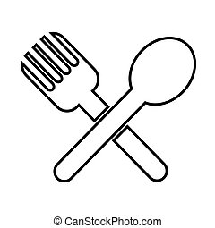 Spoon Fork Icon