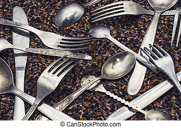 Spoon,fork,knife