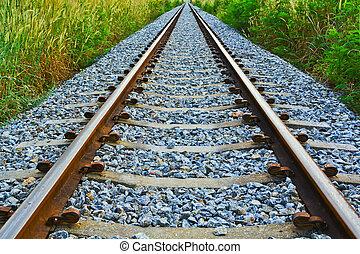 spoorweg, lang