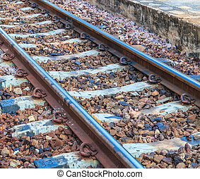 spoorweg, rails