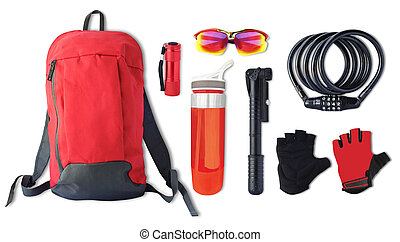 sport accessories and tools for bicycle
