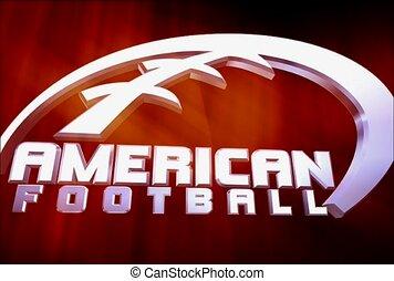 sport, amerikanische , fußball, unterhaltung