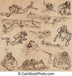 Sport - An hand drawn vector pack.