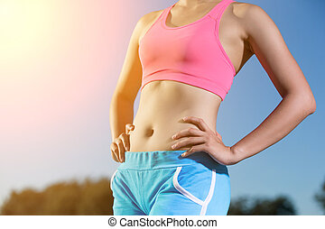 sport and health woman