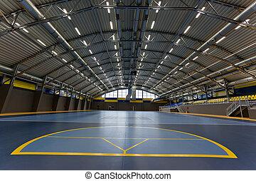 Sport arena - Modern arch steel sport hall