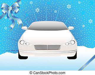 sport, autó, képben látható, a, háttér