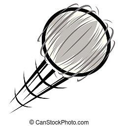 Sport ball spinning