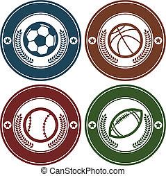 Sport Balls Emblems