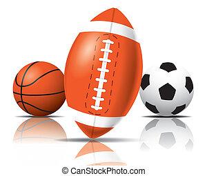 Sport balls - The abstract of sport balls