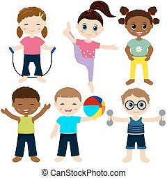 sport, bambini