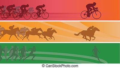 sport, banner