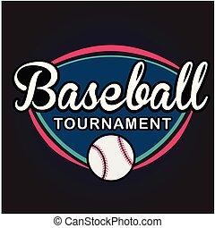 Sport Baseball Tournament Vector Image
