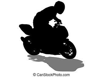 Sport bike eight