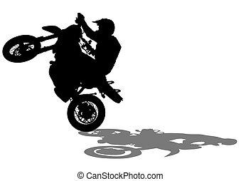 Sport bike four.