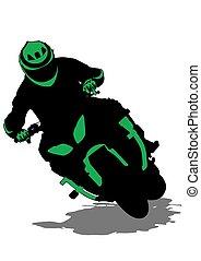 Sport bike seven