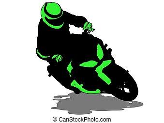 Sport bike six