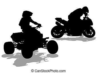 Sport bike three