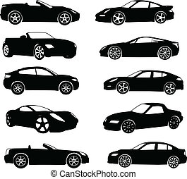 sport, bilar