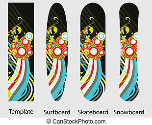 Sport boards pack 2