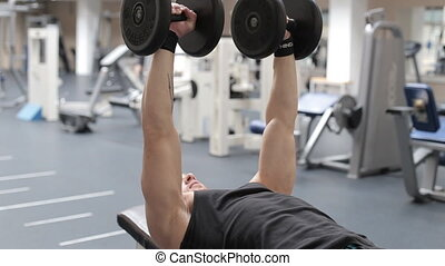 sport, bodybuilding lifestyle and people concept.