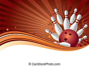 sport, bowling