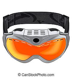 sport, brille