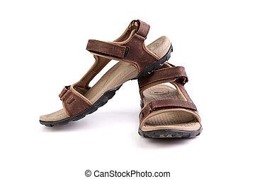 Sport brown sandals