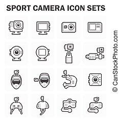 Sport camera icon
