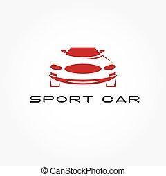 sport car abstract vector design template