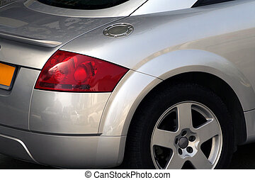 sport car - Audi TT closeup