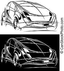 sport car design concept