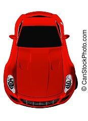 Sport Car Isolated 3D