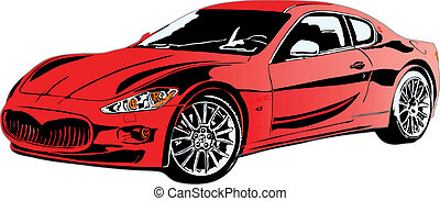 sport car made in eps