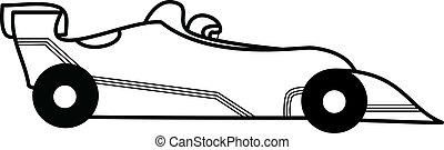Sport Car (racing) - Sport car and pilot