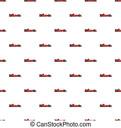 Sport car side view pattern