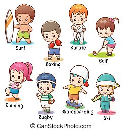 sport, caractère