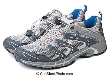 sport cipő, elszigetelt