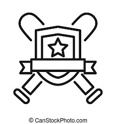 sport club emblem illustration design