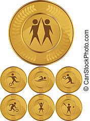 sport coin set