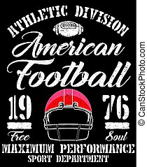 Sport college training typography, t-shirt graphics, vectors