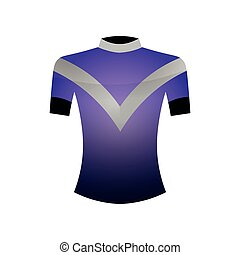 Sport colorful tshirt for professional cycling or outdoor running