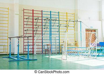 Sport complex in Russian school