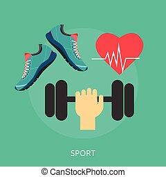 Sport Conceptual illustration Design