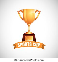 sport cup  design