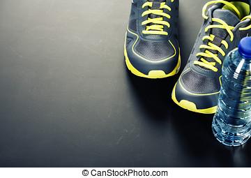 sport eau, chaussures